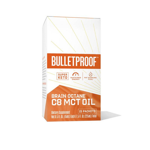 Bulletproof: Brain Octane Oil Packs
