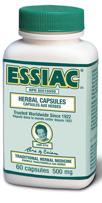 Essiac Canada International: Essiac Herbal Capsules (60 Capsules)