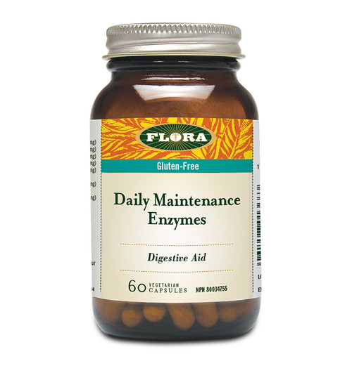 Flora: Daily Maintenance Enzyme (60 Vegetarian Capsules)
