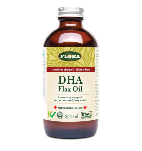 Flora: DHA Flax Oil (250ml)