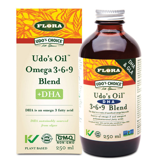 Flora: Udo's Oil DHA 3-6-9 Blend (250ml)