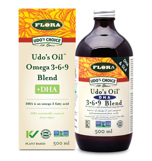 Flora: Udo's Oil DHA 3-6-9 Blend (500ml)