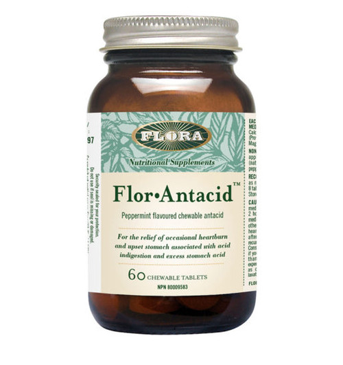 Flora: Flor-Antacid (60 Chewable Tablets)