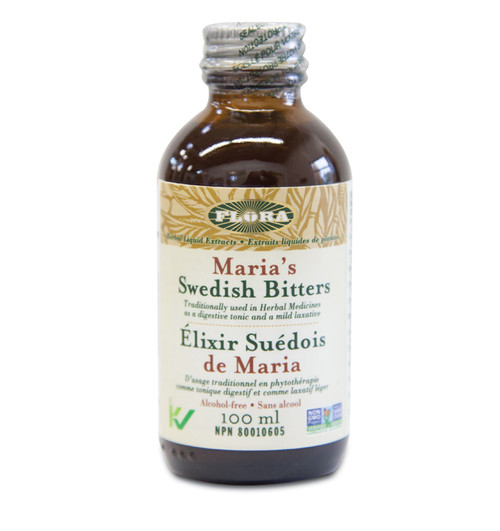 Flora: Maria's Swedish Bitters (Alcohol Free) (100ml)