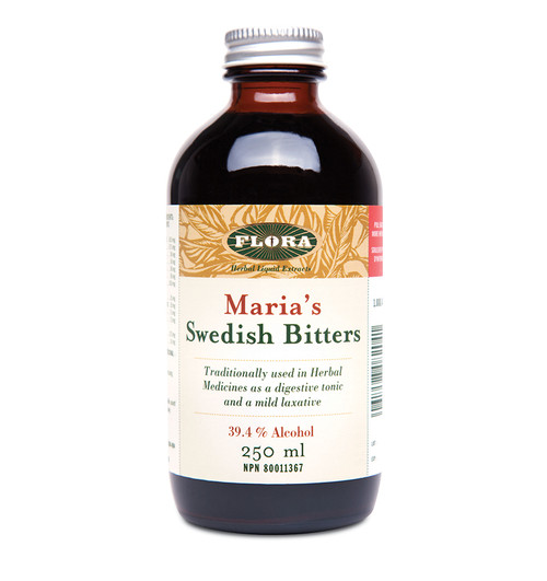 Flora: Maria's Swedish Bitters 39.4% Alcohol (250ml)