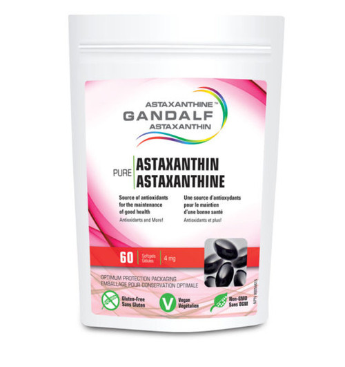 Gandalf: Pure Astaxanthin (4mg) (60 Soft Gel)