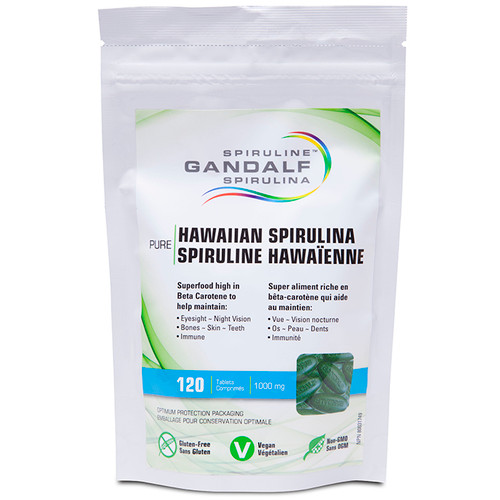 Gandalf: Hawaiian Spirulina (1000mg) (120 Tablets)