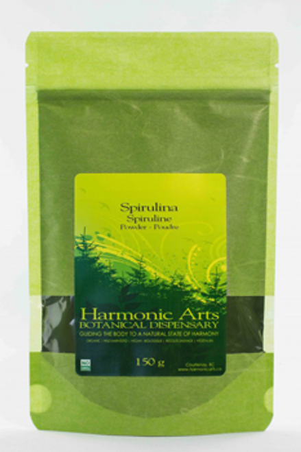 Harmonic Arts: Spirulina Powder (150g)
