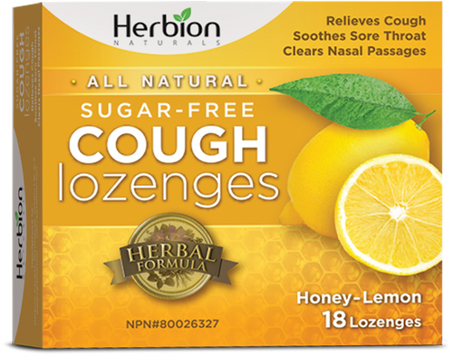 Herbion: Sugar Free Cough Lozenges - Honey Lemon