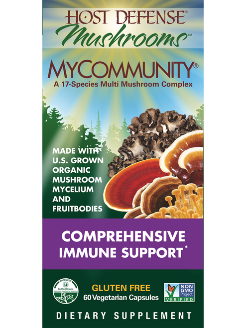 Host Defense: MyCommunity (60 Vegetarian Capsules)