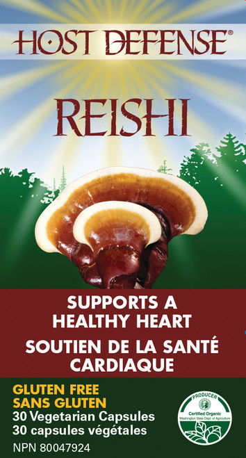 Host Defense: Reishi (30 Vegetarian Capsules)