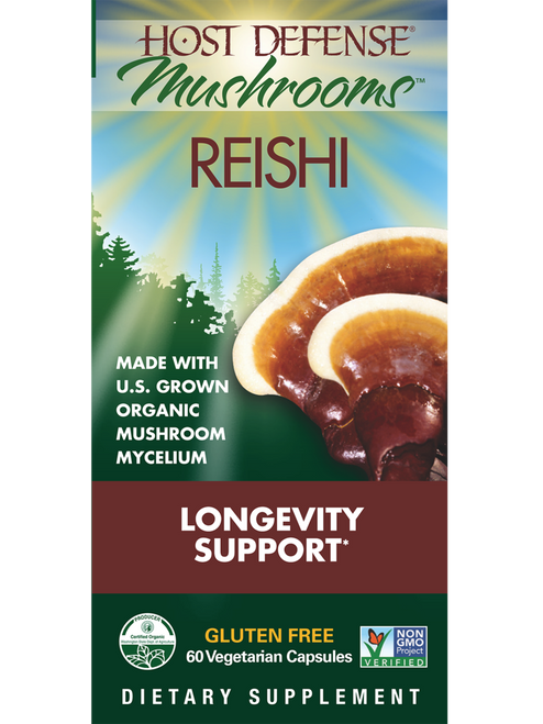 Host Defense: Reishi (60 Vegetarian Capsules)