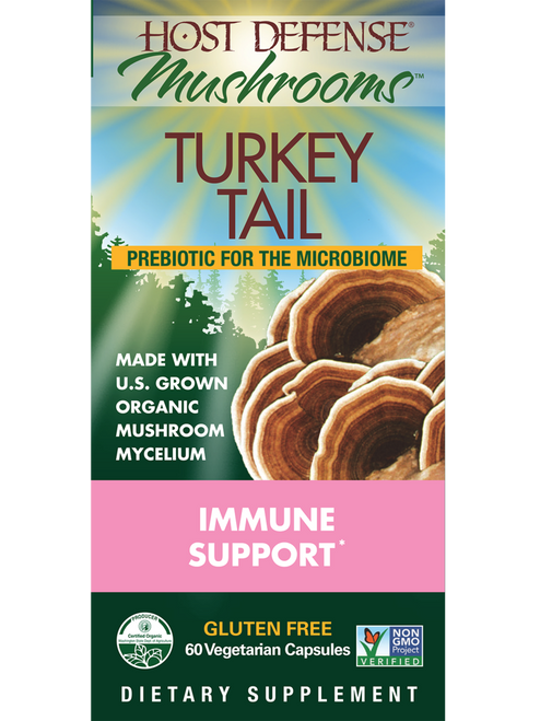 Host Defense: Turkey Tail (60 Vegetarian Capsules)