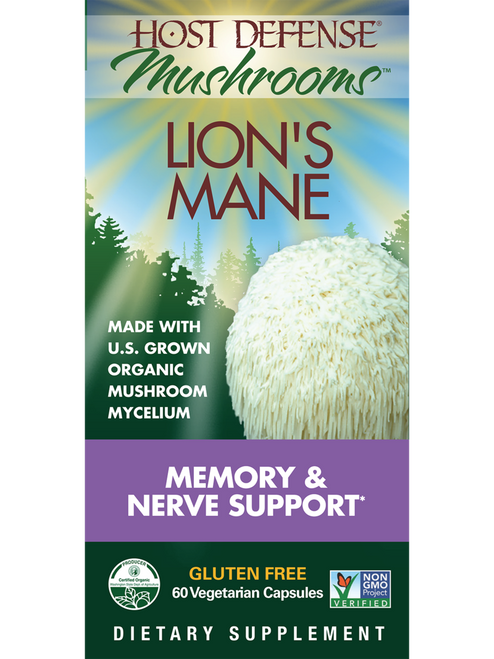 Host Defense: Lion's Mane (60 Vegetarian Capsules)