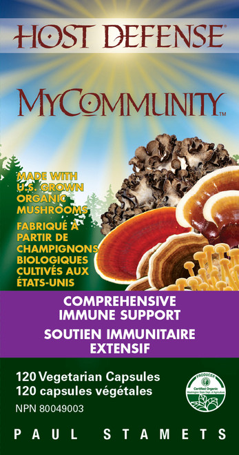 Host Defense: MyCommunity (120 Vegetarian Capsules)