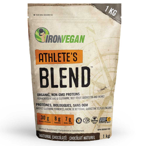 IronVegan: Athlete's Blend Protein - Natural Chocolate