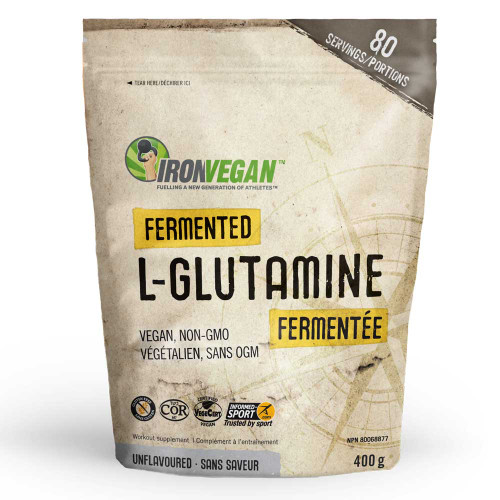 IronVegan: Fermented L-Glutamine (400 G)