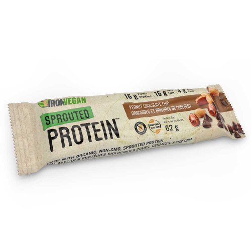 IronVegan: Sprouted Protein Peanut Chocolate Chip
