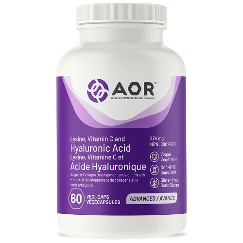 AOR: Lysine, Vitamin C and Hyaluronic Acid