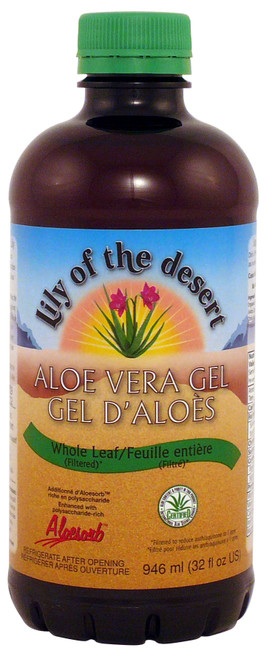 Lily of the Desert: Aloe Vera Gel Whole Leaf (946ml)