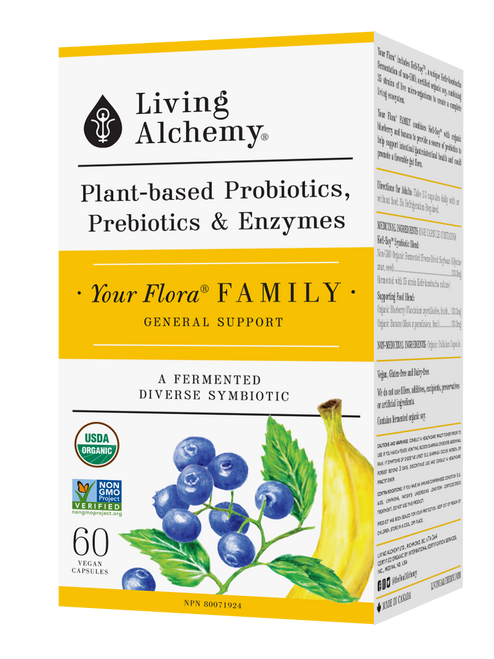 Living Alchemy: Your Flora Family Front