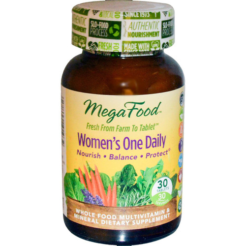 MegaFood: Women's One Daily Multivitamin (30 Tablets)