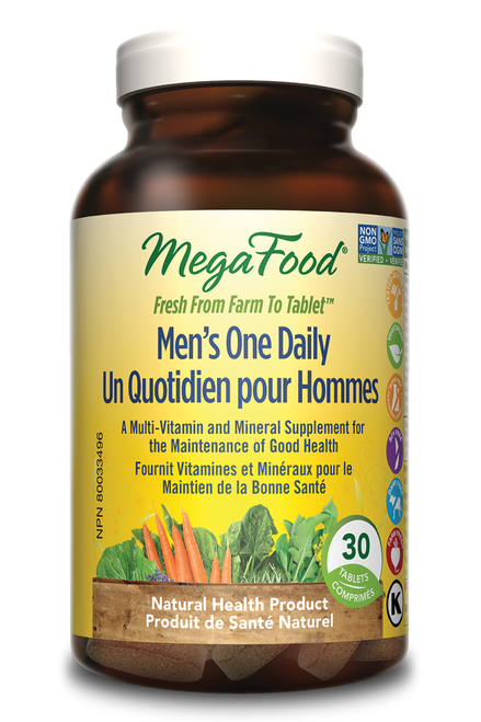 MegaFood: Men's One Daily (30 Tablets)