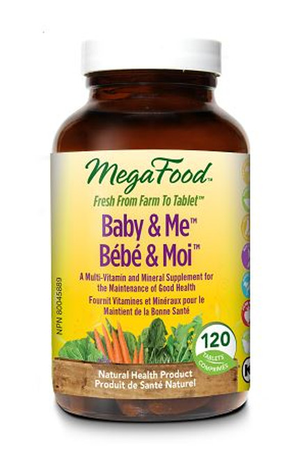 MegaFood: Baby & Me (120 Tablets)