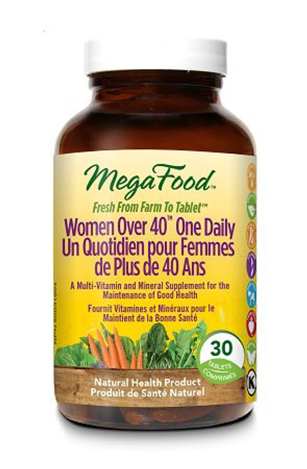 MegaFood: Women Over 40 One Daily Multivitamin (30 Tablets)