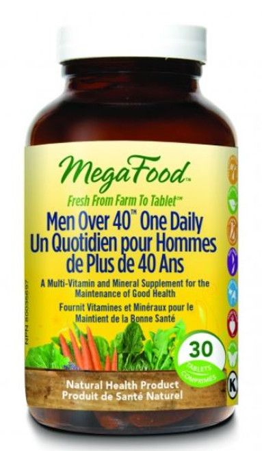 MegaFood: Men Over 40 One Daily (30 Tablets)