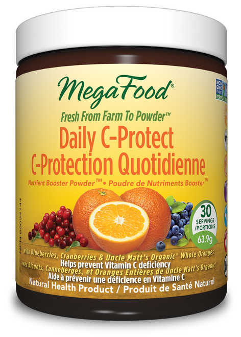 MegaFood: Daily C-Protect Nutrient Booster Powder (63.9g)