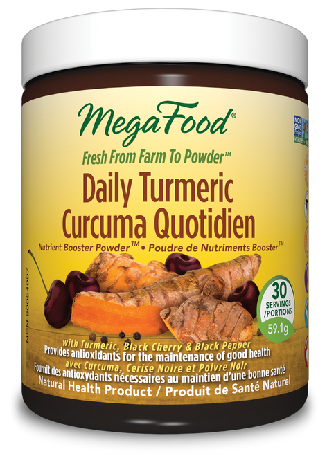 MegaFood: Daily Turmeric Nutrient Booster Powder (59.1g)