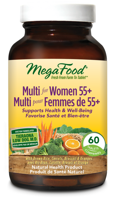 MegaFood: Multi For Women 55+ (60 Tablets)