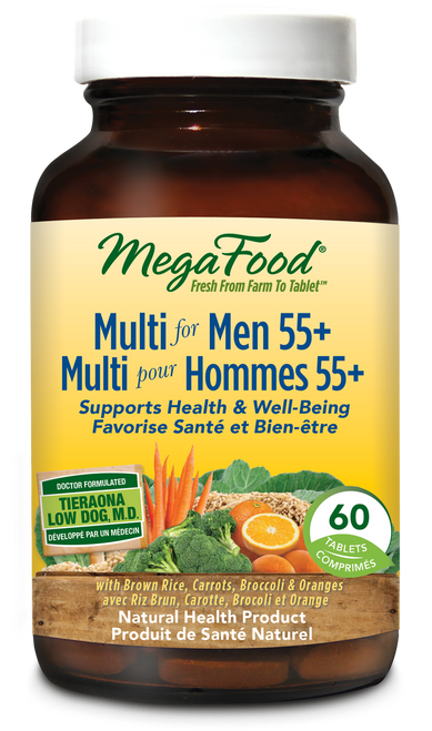 MegaFood: Multi for Men 55+ (60 Tablets)