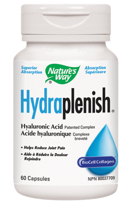 Nature's Way: Hydraplenish Hyaluronic Acid (60 Capsules)