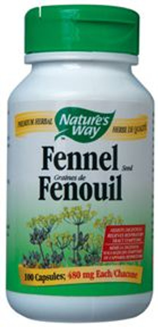 Nature's Way: Fennel Seed (100 Capsules)