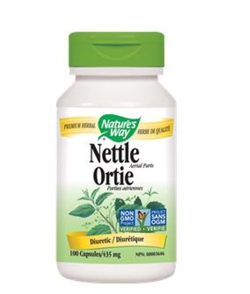 Nature's Way: Nettle Aerial Parts (100 Capsules)