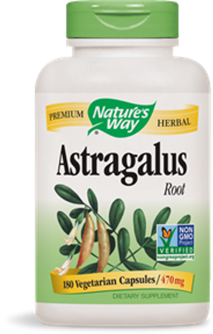 Nature's Way: Astragalus Root (180 Vegetable Capsules)