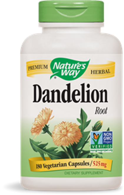 Nature's Way: Dandelion Root (180 Capsules)