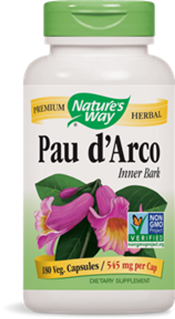 Nature's Way: Pau D'Arco Inner Bark (180 Capsules)