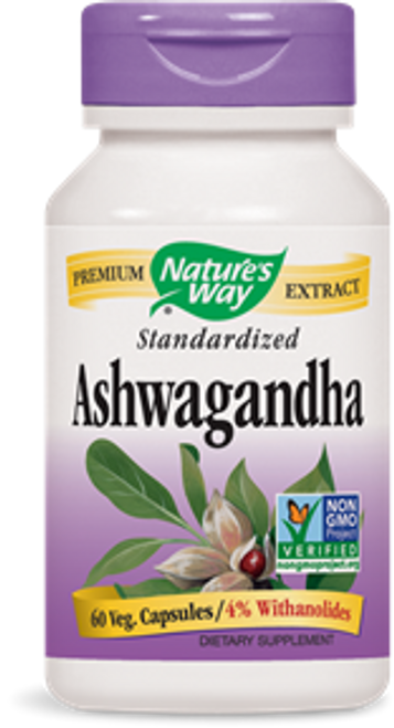 Nature's Way: Ashwagandha (60 Vegetarian Capsules)