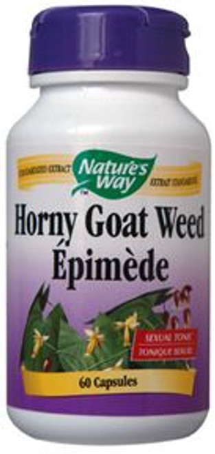 Nature's Way: Horny Goat Weed (60 Capsules)