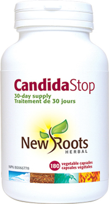 New Roots Herbal: Candida Stop (180 Vegetable Capsules)