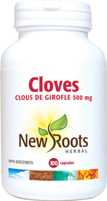 New Roots Herbal: Cloves (100 Vegetable Capsules)