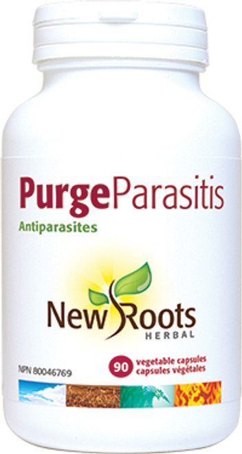 New Roots Herbal: Purge Parasitis (90 Vegetale Capsules)
