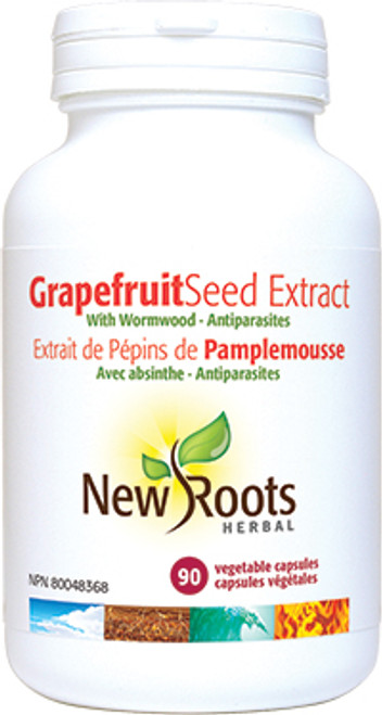 New Roots Herbal: Grapefruit Seed Extract (90 Vegetable Capsules)