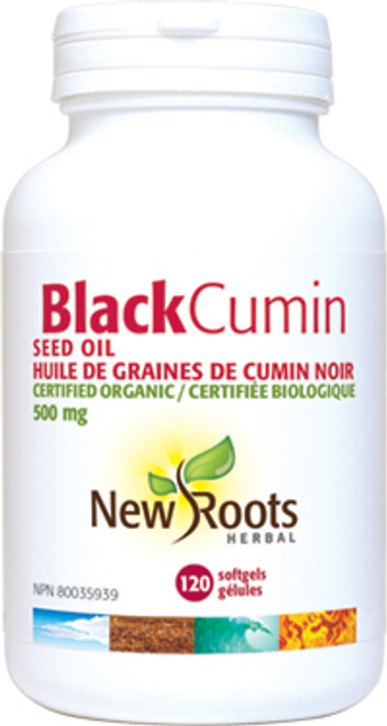 New Roots Herbal: Black Cumin Seed Oil (120 SoftGels)