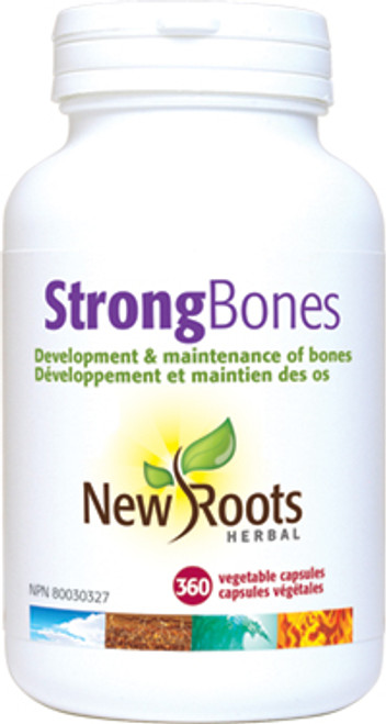 New Roots Herbal: Strong Bones (360 Vegetable Capsules)