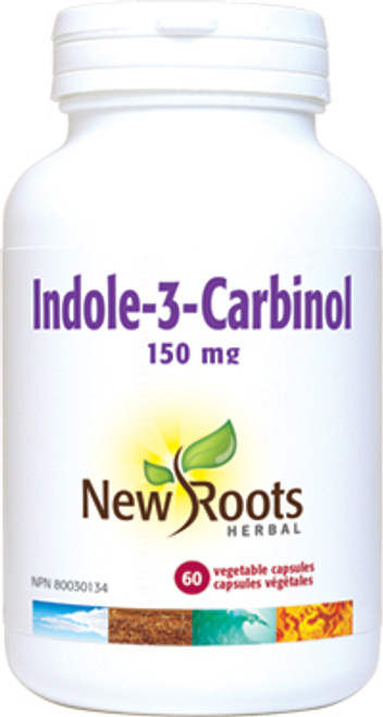New Roots Herbal: Indole-3-Carbinol (150mg) ( 60 Vegetable Capsules)