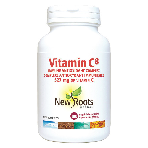 New Roots Herbal: Vitamin C8 (180 Capsules)